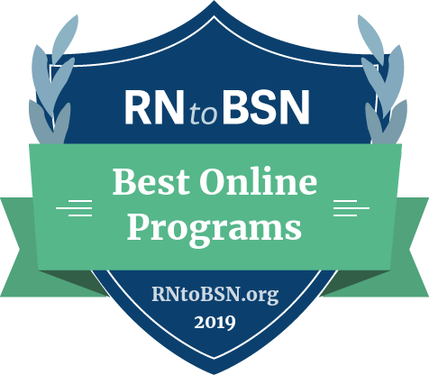 #1 Best Online RN to BSN Program
