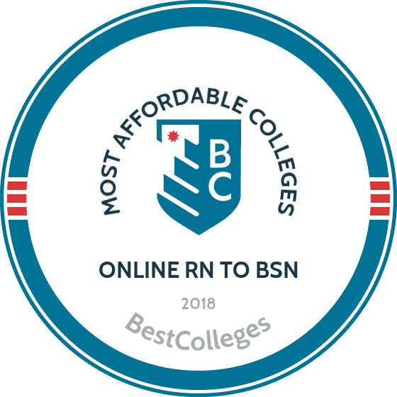 #3 Most affordable RN to BSN Program